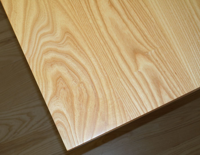 Ash Wood Countertops for kitchens bathrooms offices custom made by Grothouse