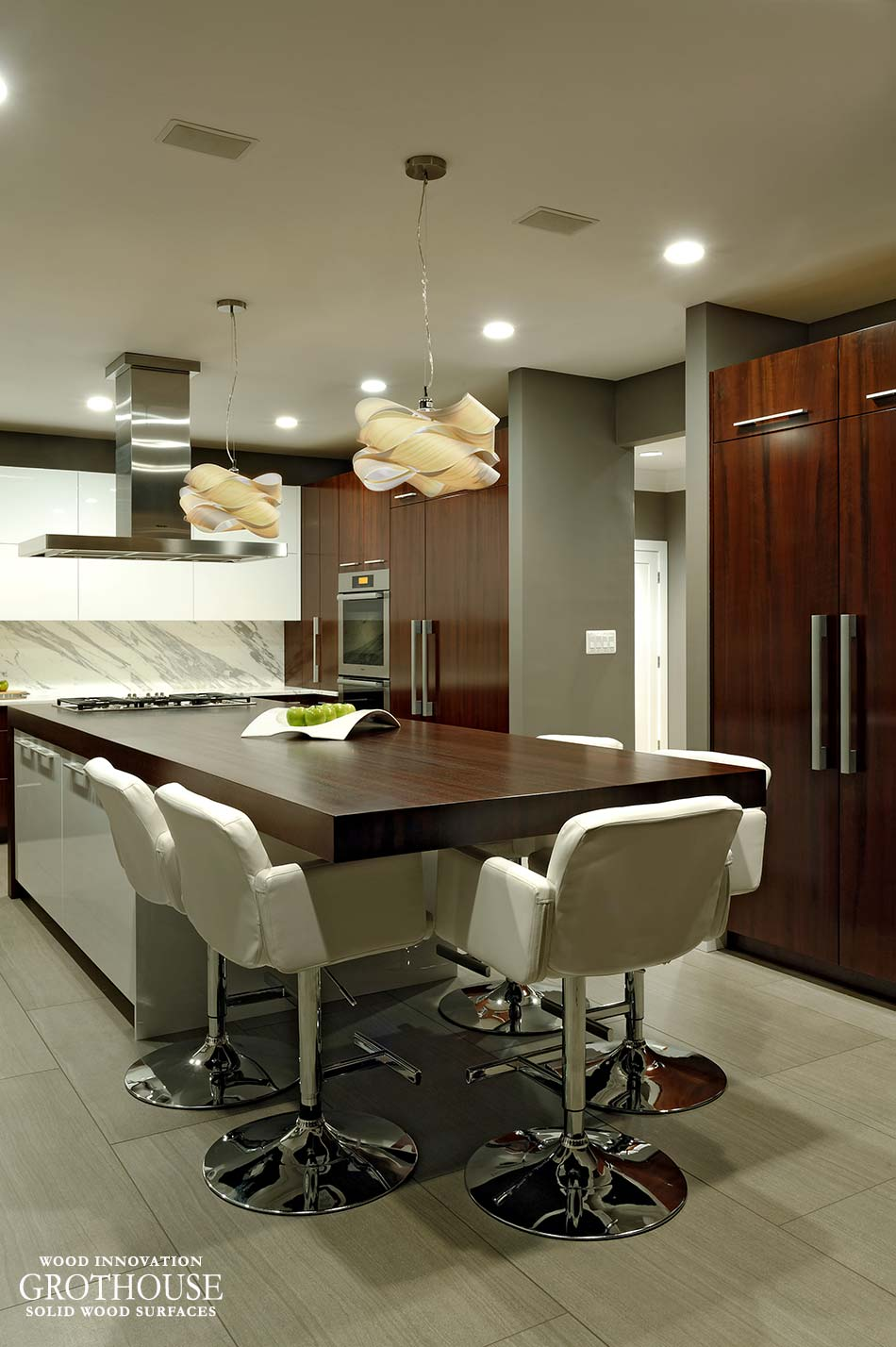 Simple Edge Profile Kitchen Countertop