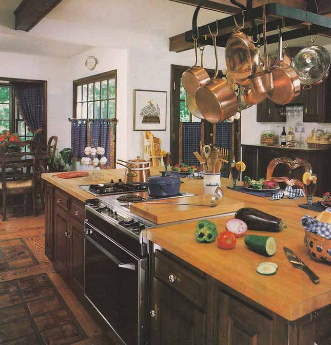1980s Wood Kitchen Countertop History