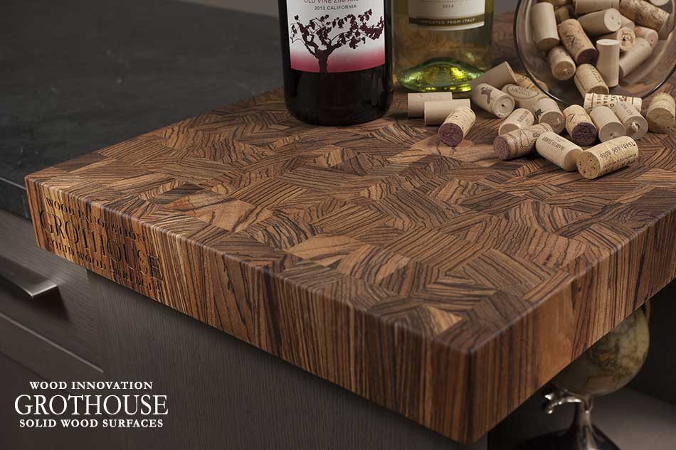 How to Clean Cutting Boards Custom Crafted by Grothouse