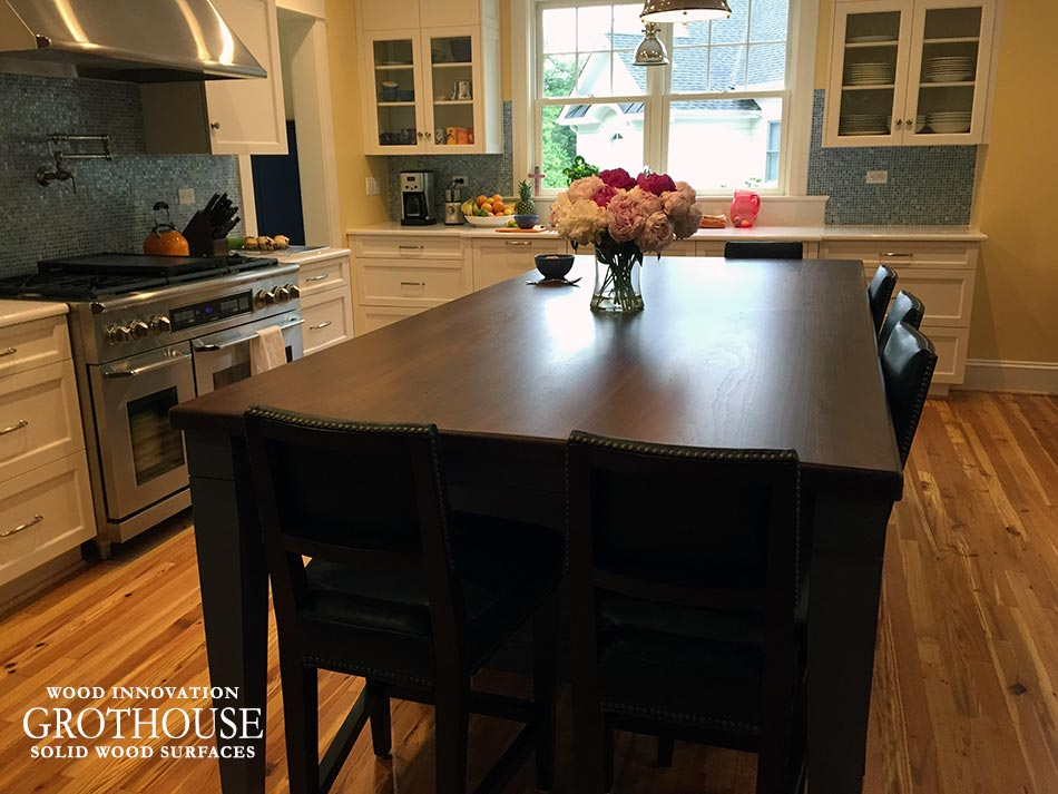 Walnut Wood Southside Virginia Counter Tops custom crafted by Grothouse