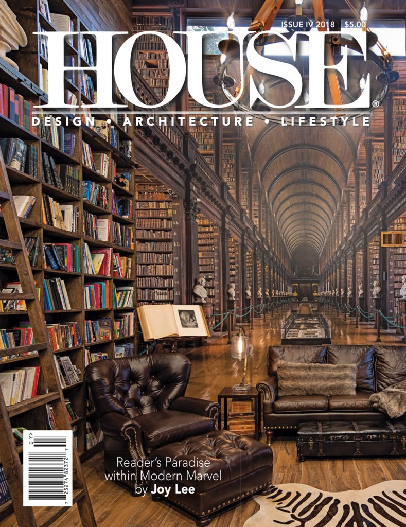 Grothouse Wood Countertops featured in the latest House Magazine Issue IV 2018
