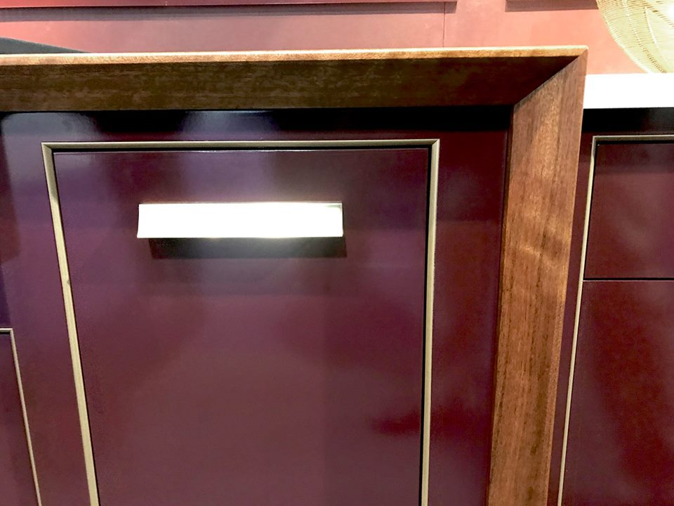 Grothouse Kensington™ Wood Counter at KBIS 2019 in Plato Woodworking booth