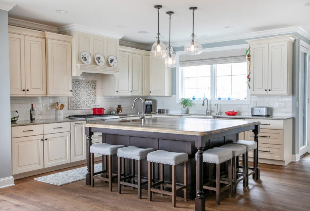 Saxon Wood Island Countertop for Multi-Functional Kitchen in Wisconsin