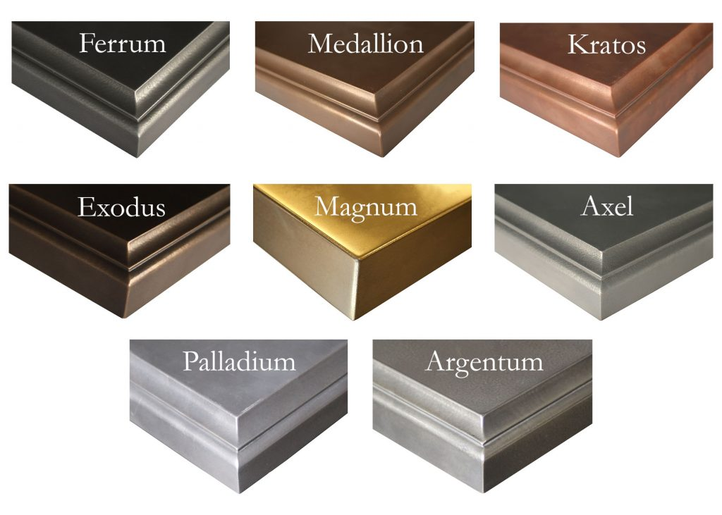 Grothouse Anvil Metal Accent Color Options